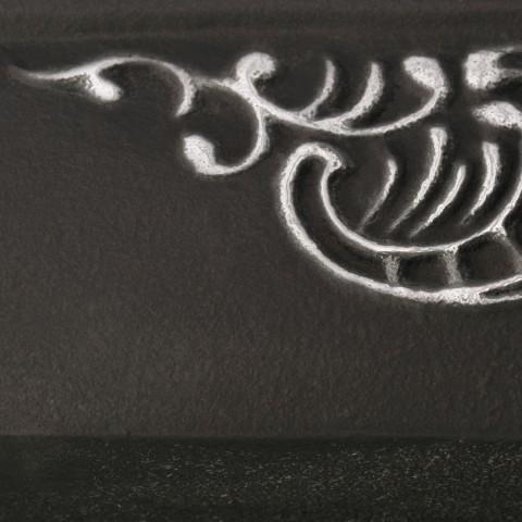 Flat Black [eksponowany ornament - Silver]